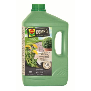 Compo anti-onkruid en anti-mos opritten en paden spray 2,5 L
