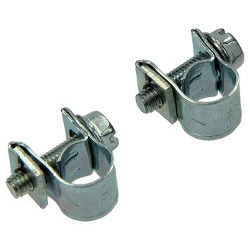 Sam slangklem verzinkt 6-8 mm 2 stuks