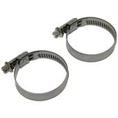 Collier de serrage de tuyau SAM inox 32-50 mm 2 pièces