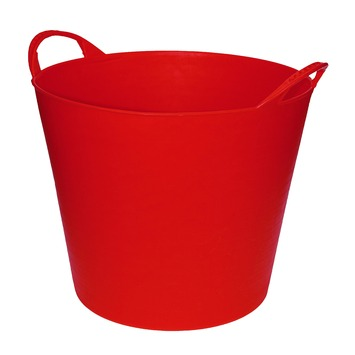 Seau flexible 20 L rouge