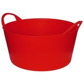 Emmer flexibel 10 L rood