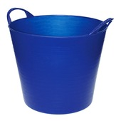 Emmer flexibel 40 L blauw