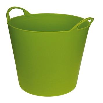 Seau flexible 40 L vert