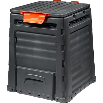 Keter eco composter 320 L zwart 65x65x75 cm
