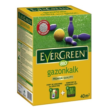 Chaux pour gazon 40 m² Evergreen