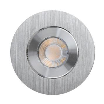 GAMMA inbouwspot met geïntegreerde LED 9,3 W 700 lumen richtbaar aluminium