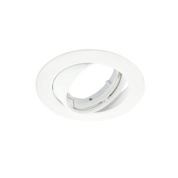 Spot encastrable GAMMA GU10 orientable rond blanc sans ampoule