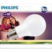 Philips LED peerlamp E27 470 lumen 5,5 W = 40 W warm wit