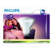 Philips LED reflectorlamp GU10 220 lumen 35 W warm wit
