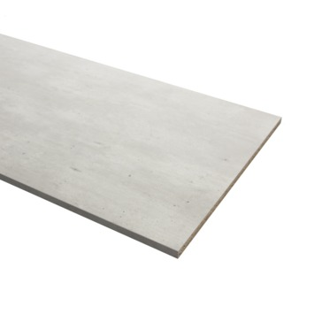 Meubelpaneel beton 2-zijdige abs afwerkband 240x60 cm 18 mm