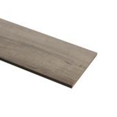 Panneau de meuble finition 2x ABS 18 mm 240x30 cm chêne brun