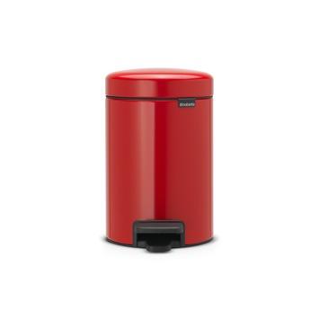 Brabantia Newicon pedaalemmer rood 3 liter