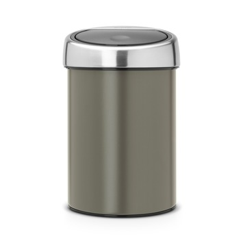 Brabantia Touch bin afvalemmer platinum 3 liter