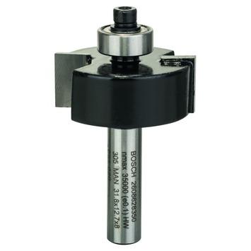Bosch Sponningfrees8 mm B 9,5 mm L 12,7 mm G 54 mm 1 stuk