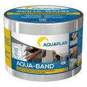 Bande d'étanchéité autocollante Aqua-band Aquaplan aluminium 10 cm 5 m
