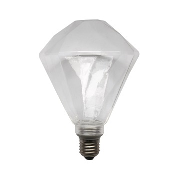 LED lamp diamant helder E27
