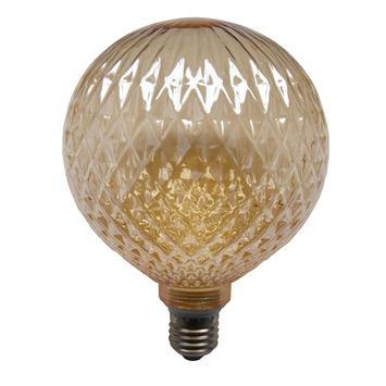 Lampe boule dorée