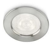 Spot encastrable LED intégrée Philips Spectrum 4W 270 lm rond orientable nickel
