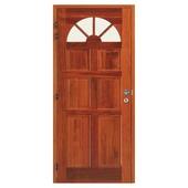 Merbau porte extérieure CP539 gauche 205,5x96 cm