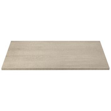 Panneau de meuble CanDo 18 mm 80x50 cm chêne blanchi