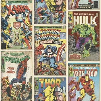 Papierbehang Marvel superhelden 70-238