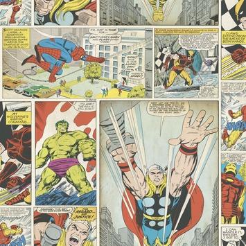 Papier peint Easy Graham & Brown 70-264 Marvel bande dessinée  0,52x10 m