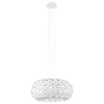 Eglo Hanifa pendellamp exclusief lamp E27 max. 2x 60 W kristal