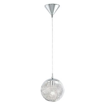 Eglo Hanu hanglamp exclusief lamp G9 3x 33 W aluminium