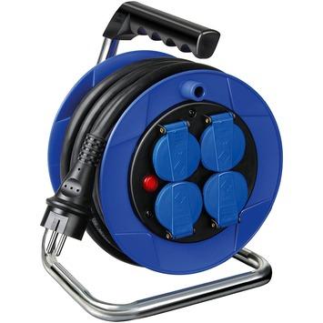 Enrouleur de câble Brennenstuhl Garant Kompakt 15 m IP44 bleu