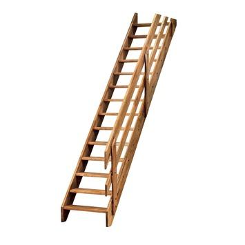 Sogem horizontale leuning eiken voor trap Ardennes