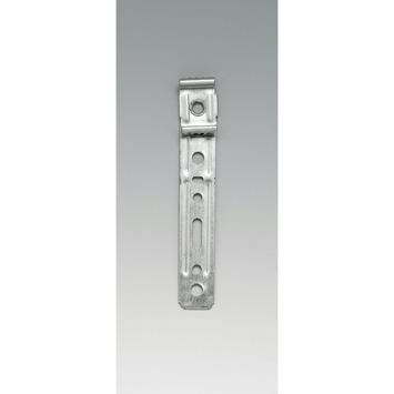 Patte de fixation pour fenêtres en PVC
