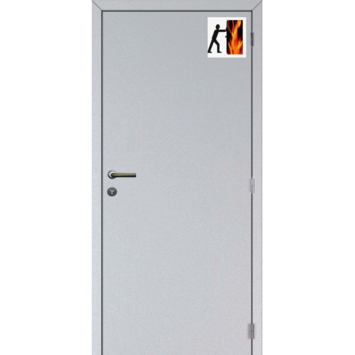 Solid Portixx binnendeur Colore RF30 spaanderplaat brandwerend wit 201,5x88 cm