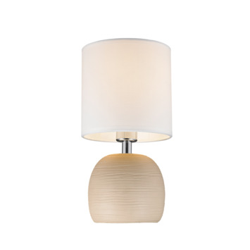 Lampe de table en tissu OK