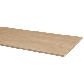 CanDo meubelpaneel eik rustiek pefc 2-zijdig afgekant aan lange zijden 250x60 cm 18 mm