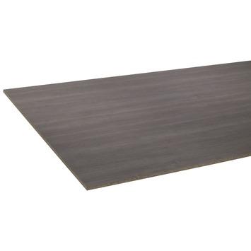 Panneau de meuble CanDo pefc ans couvre-chant 18 mm 250x125 cm chêne grisonné