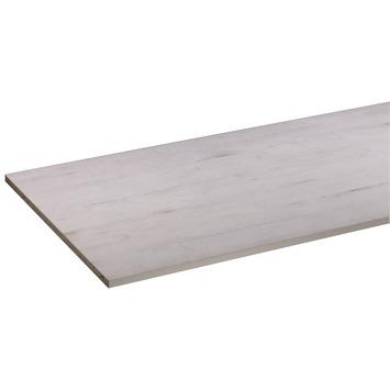 Panneau de meuble CanDo pefc avec couvre-chant sur 2 longs côtés 18 mm 250x60 cm bois de récupération