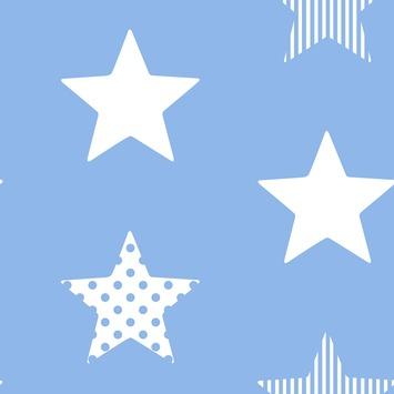 Vliesbehang Superster blauw 100109