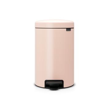 Poubelle à pédale Newlcon  12 l clay pink Brabantia