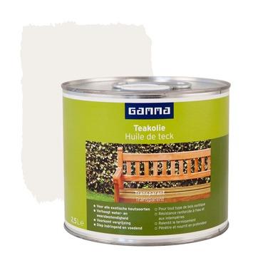 huile de teck gamma incolore 2 5 l vernis huiles lasures. Black Bedroom Furniture Sets. Home Design Ideas