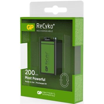 Pile rechargeable GP 9V NiMH 200 mAh 1 pièce