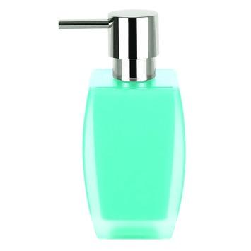 Spirella Freddo zeepdispenser licht blauw vrijstaand