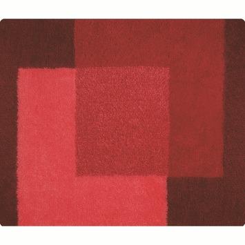 Spirella Crossover badmat rood 55x65 cm