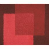 Tapis de bain Crossover Spirella 55x65 cm rouge