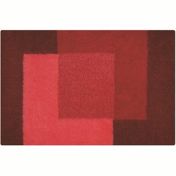 Spirella Crossover badmat rood 60x90 cm