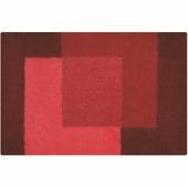 Tapis de bain Crossover Spirella 60x90 cm rouge