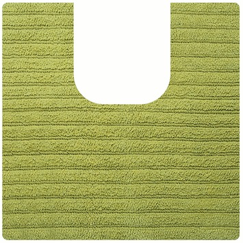 Spirella Benoa toiletmat groen katoen 55x55 cm