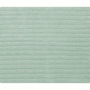 Spirella Benoa badmat blauw katoen 55x65 cm
