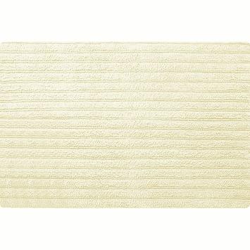 Spirella Benoa badmat natuur katoen 60x90 cm