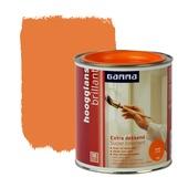 GAMMA lak extra dekkend hoogglans oranje 750 ml