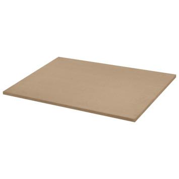 panneau de meuble en mdf fsc 18 mm 80x60 cm